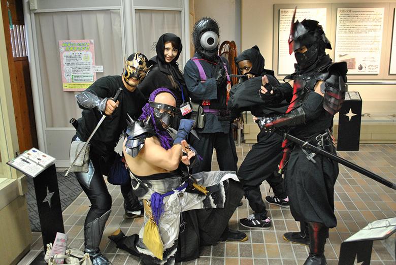 super ninja warrior barbarian magician