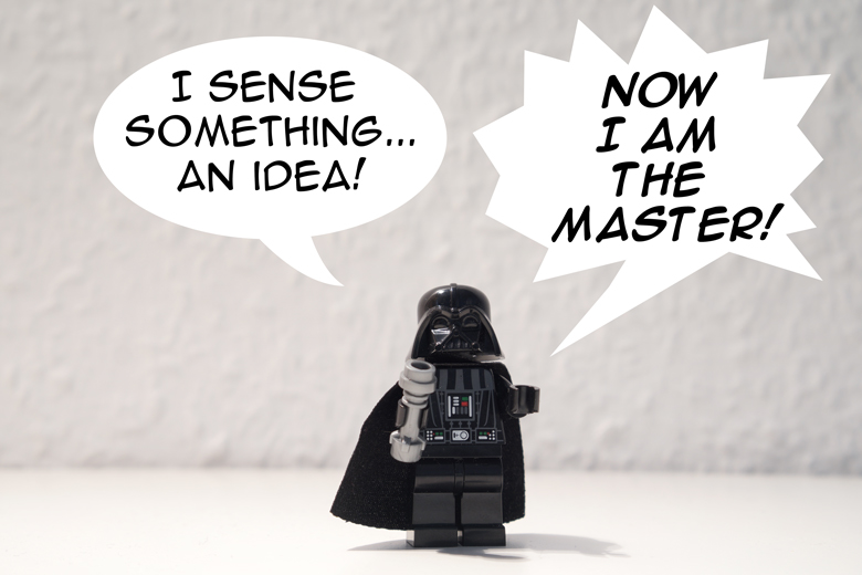 Darth Vader find an idea