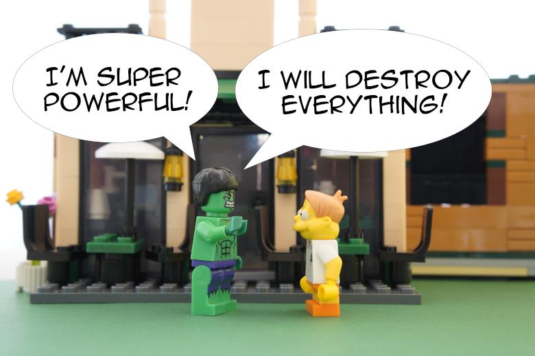 Inheritance is as powerful as Hulk!
